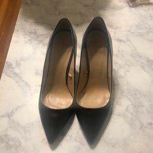 Zara Black Heels size 39/8.